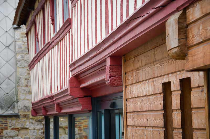architecture normande, manoir desmares, lisieux