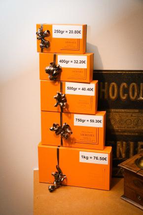 ballotins chocolats lisieux normandie