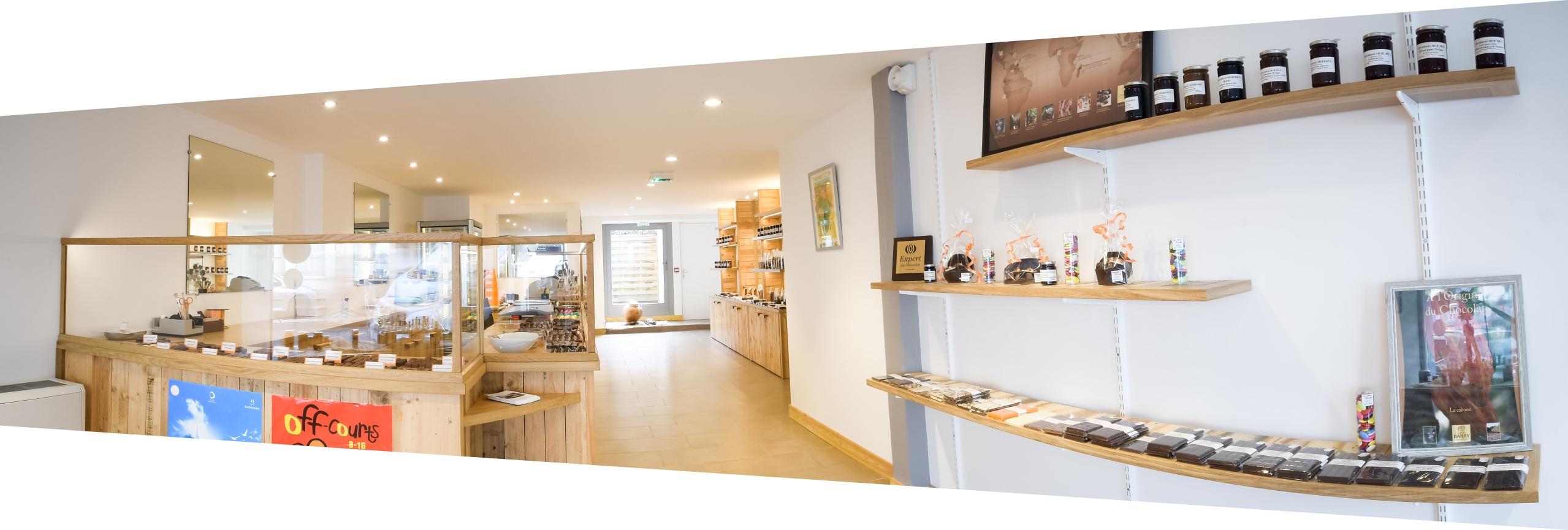 boutique, magasin, Chocolaterie Mérimée, pont-l'évêque, pays d'auge, Normandie