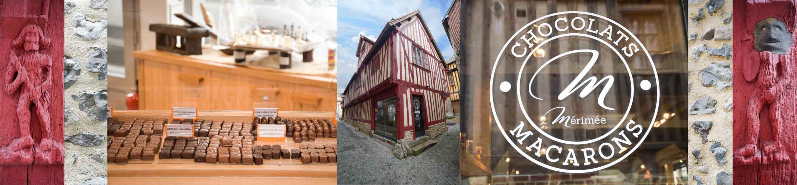 Chocolaterie Mérimée, manoir Desmares, Lisieux, Pont l'Évêque, Calvados, Normandie